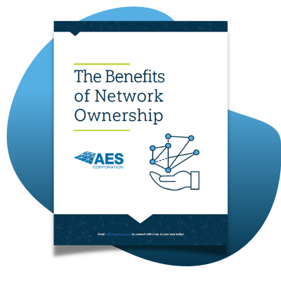 Benefits of Network Ownership Landing Page